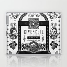 Lord of the Rings Rivendell Vineyards Vintage Ad Laptop & iPad Skin