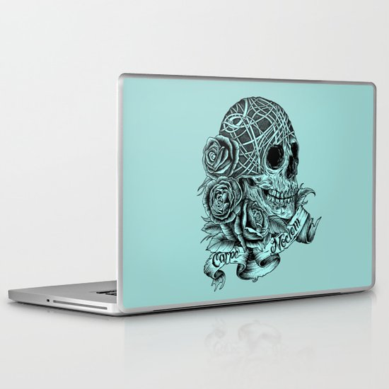 Carpe Noctem (Seize the Night) Laptop & iPad Skin