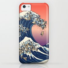 The Great Wave Of Pug   iPhone 5c Slim Case