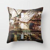 Palazzo Lucerna  - Prague Throw Pillow