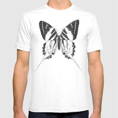 A Ghostly Visitor Mens Fitted Tee SMALL White