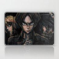 Attack On Titan  Shingek… Laptop & iPad Skin