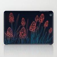 Hyacinths in the night iPad Case