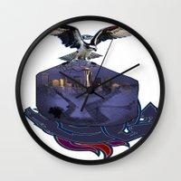 THAT HAWK! Wall Clock