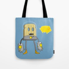 Space Toast Tote Bag
