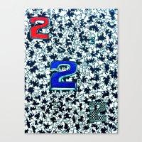 Canvas Print featuring ttwwoo by Phil Janasz