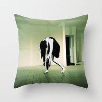 The Death Stare Throw Pillow