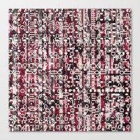 Linear Thinking Trip-Swi… Canvas Print