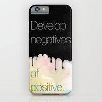 iPhone & iPod Case featuring Develop negatives of positive. by Naniii