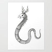 Another Monster. Art Print