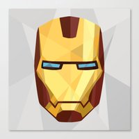 IronMan Fracture Canvas Print