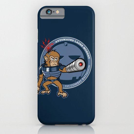 Automated Laser Monkey iPhone & iPod Case