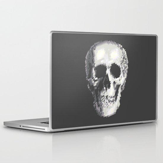 Tri Skull Laptop & iPad Skin
