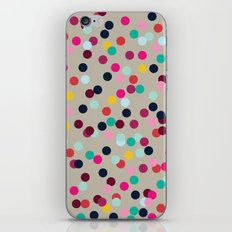Confetti #2 iPhone & iPod Skin