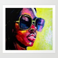 Palette Knife II Art Print
