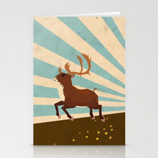 Deer II Stationery Card