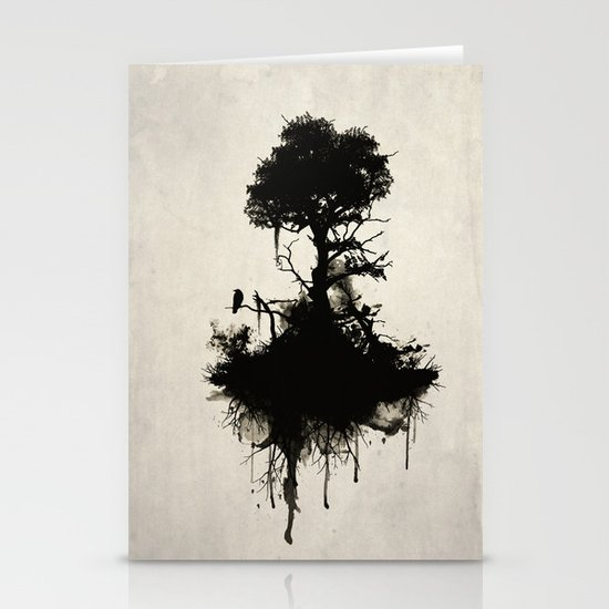 Last Tree Standing Stationery Card