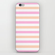 SHERBET STRIPES iPhone & iPod Skin