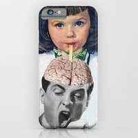 iPhone Cases featuring Reptilian Snack by Eugenia Loli