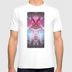 Spinal Tyrant Mens Fitted Tee White SMALL