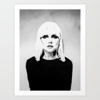 DEBBIE HARRY Art Print