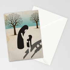 padre/figlio Stationery Cards