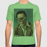 RICHARD TODD.  (PIN-UPS). Mens Fitted Tee Grass SMALL