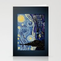 Starry Wars Night Stationery Cards