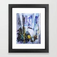 Untitled 1 - (città Tos… Framed Art Print