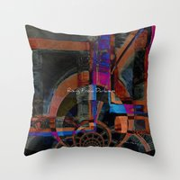Rising From Darkness Abs… Throw Pillow