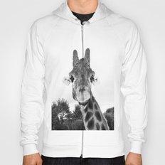 Giraffe. B+W. Hoody
