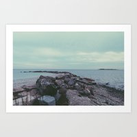 beachy. Art Print