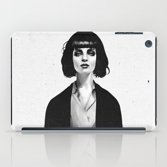 Mrs Mia Wallace iPad Case