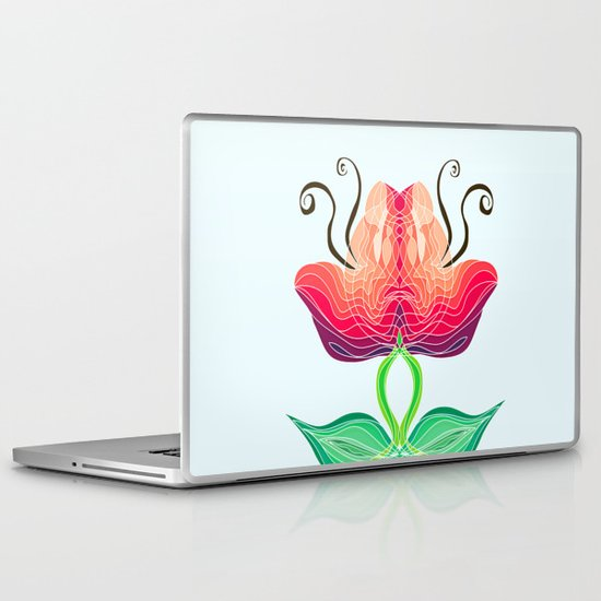 Warm in the Middle Laptop & iPad Skin