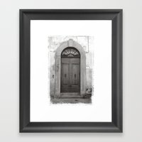 Rome Door 1 Framed Art Print