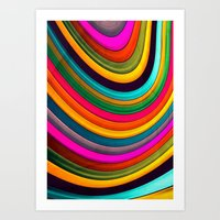 More Curve Art Print