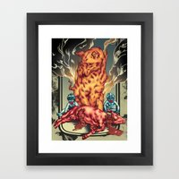 Romulus And Remus Humble… Framed Art Print