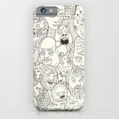 Faces Of Math (no Color … iPhone 6 Slim Case