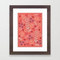 Little Ladybugs Framed Art Print
