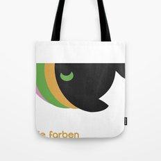 freie farben Tote Bag