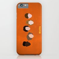 iPhone & iPod Case featuring Minimalism Misfits  by Mercedes Lopez