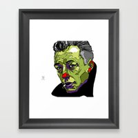 A. Camus Framed Art Print