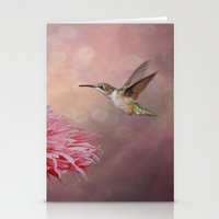 A Hummingbirds Dance Stationery Cards