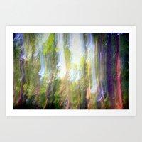 Sun Shower In The Fairy … Art Print