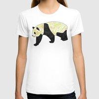 panda T-shirts featuring Panda by Ben Geiger
