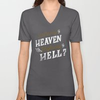 Highway to Heaven? Unisex V-Neck