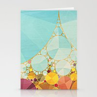 Travelling Show Abstract… Stationery Cards