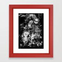 tortured souls Framed Art Print