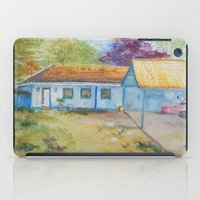 Country house iPad Case