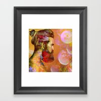 The Arrival Of The Shama… Framed Art Print